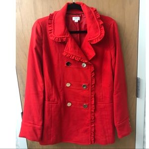 Crown & Ivy Pea Coat {Accepting other offers!}